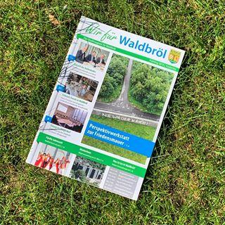 Stadtmagazin Wir für Waldbröl (Herausgeber: Werbeagentur Vorländer & friends aus Nümbrecht)