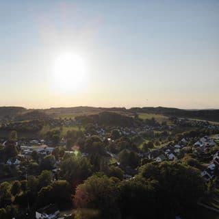 Drohnenfoto: Blick über Nümbrecht-Grötzenberg © Vorländer & friends